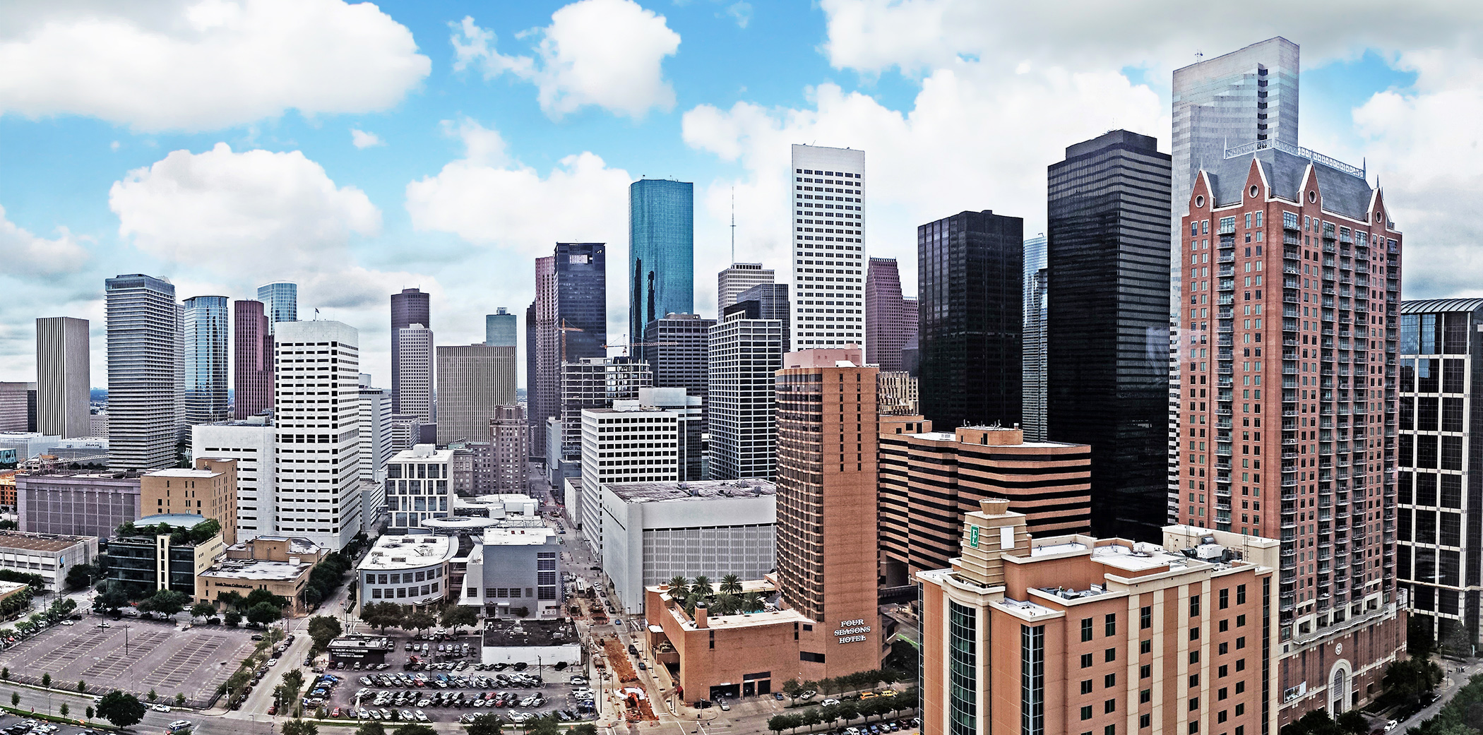 Houston TX Skyline